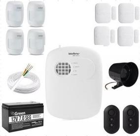 Intelbras - Kit Alarme Monitorada 8 Zonas Amt2008 Rf