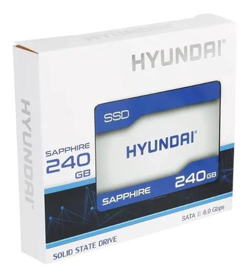 Hd Ssd Hyundai Sapphire 240gb Sata3 Rápido Disco Duro Rígido