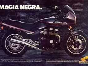 Honda Cbx 750f Magia Negra
