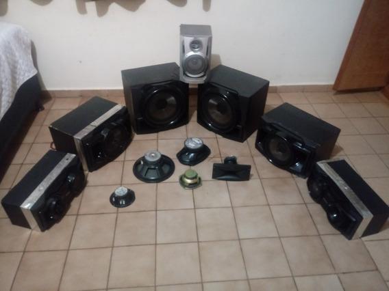 Caixa De Som Com 2000 Rms