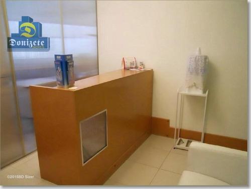 Sala À Venda, 35 M² Por R$ 215.000,01 - Vila Guiomar - Santo André/sp - Sa0239
