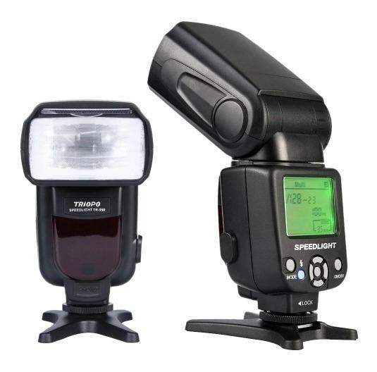 Flash Canon Triopo Tr 950 T3 T3i T5 T5i 6d 7d 60d