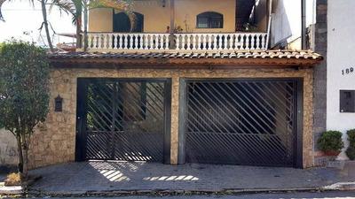 Sobrado No Ipiranga De 187m² Com 5 Dormitórios, 1 Suíte E 4 Vagas - So0010
