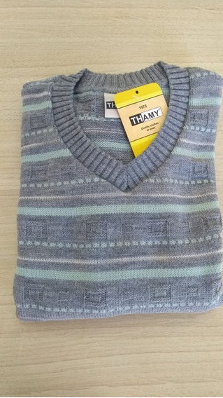 Blusa De Lã Básica Infantil Masculina
