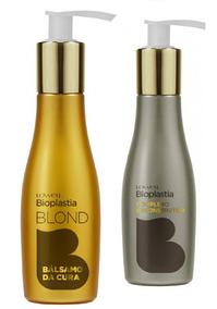 Lowell Bioplastia Reconstrutor 100g + Bálsamo Da Cura Blond