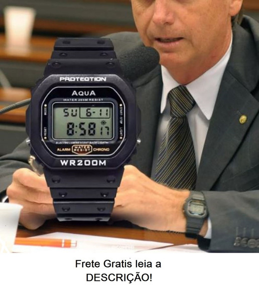 Relógio Aqua Gp 519 Wr200m Prova D