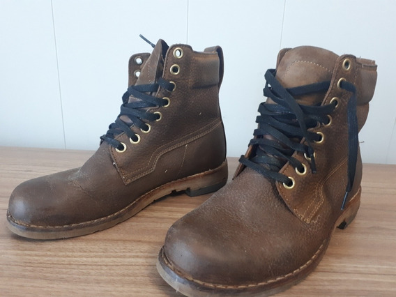 Borceguies Borcegos Timberland Impecables 6 Cuot Sin Intires