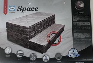 Colchón & Sommier Divan Cama Space |90x190 Cm