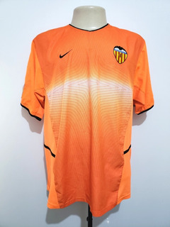 Camisa Futebol Oficial Valência Espanha 2002 Away Nike G