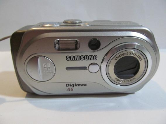 Camera Fotografica Samsung Digimax A6/a63 Arte Som