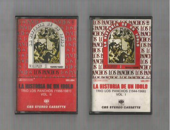 Trío Los Panchos La Historia De Un Ídolo Vol 1 Y 2 Cassettes