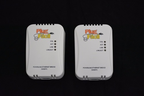Conversor De Internet Via Rede Eletrica Plug Facil 56mbps