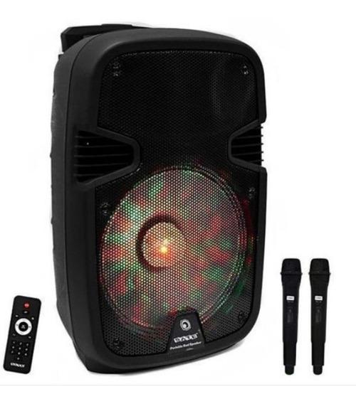 Caixa De Som Karaoke Satellite As-1208 12 Usb/sd/bluetooth