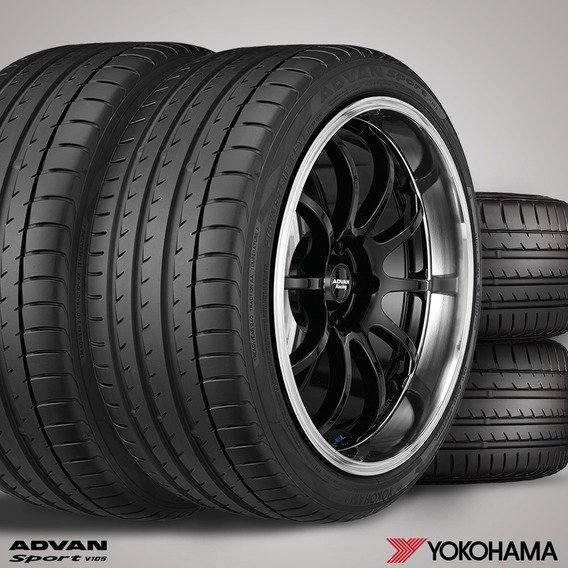 Jogo 4 Pneus Yokohama 305/30/20 103y Advan Sport V105 | Gr59