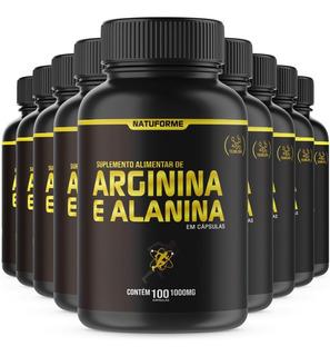 Arginina + Alanina No2 12x100 Cápsulas De 1000mg Natuforme
