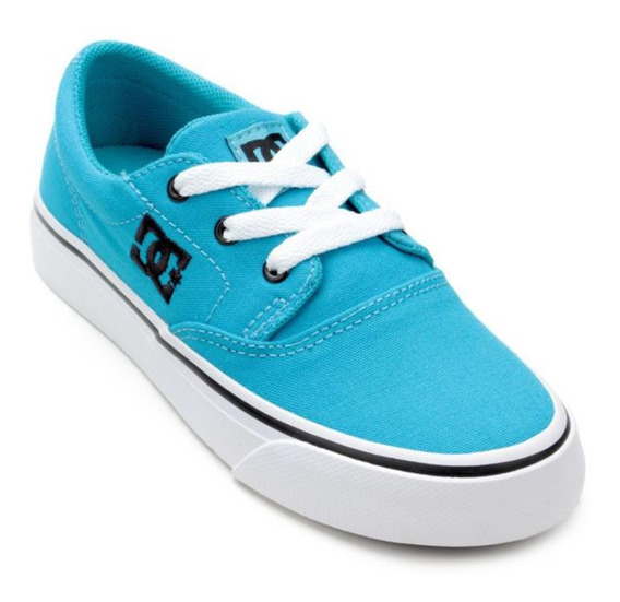Tênis Infantil Dc Shoes Flash 2 Tx Lá Masculino Original