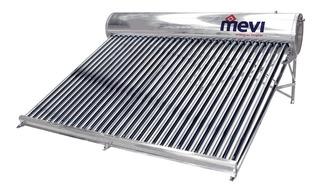 Calentador Solar Mevi / 30 Tubos - 350 Lts / 8 - 10 Personas