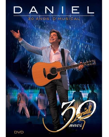 Dvd - Daniel 30 Anos O Musical Dvd + Ep Original Lacrado