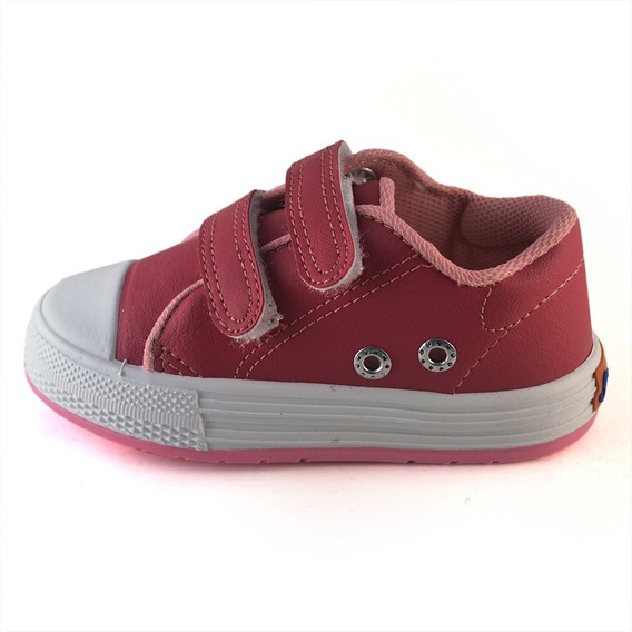 Zapatilla Abrojo Ecocuero Small Shoes Morado