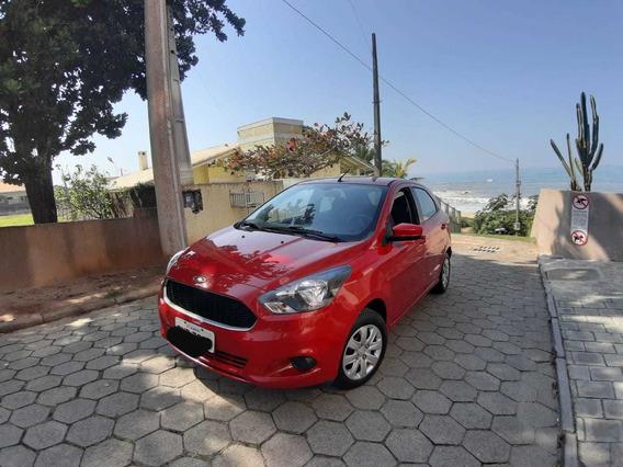 Ford Ka Se 1.0 2016 Flex 5 Portas - Vermelho - Única Dona