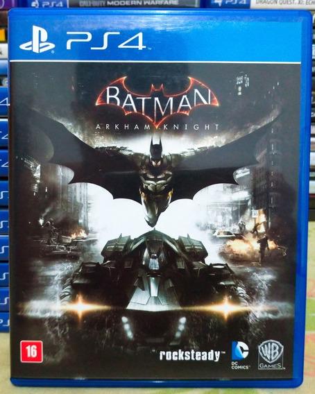 Batman Arkham Knight Ps4 - Jogo Mídia Física Em Português