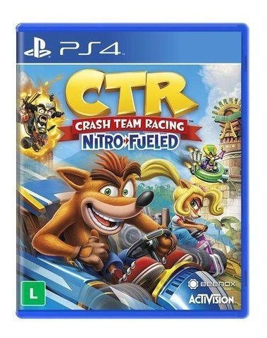 Crash Team Racing Nitro Fueled (mídia Física Em Pt-br) Ps4