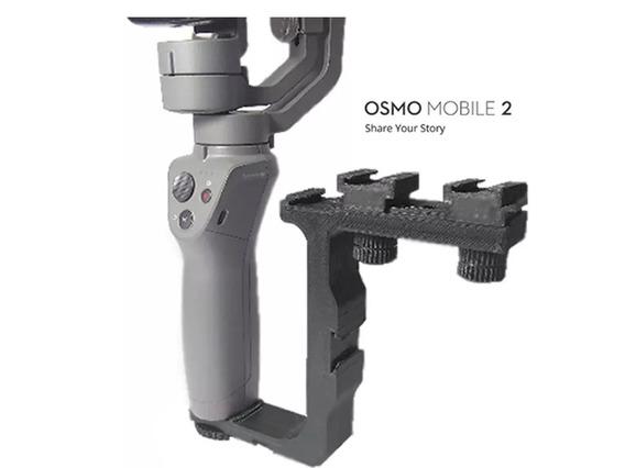 Suporte De Iluminação Microfone Acessórios Dji Osmo Mobile 2