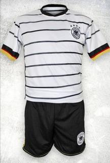Uniforme Jersey + Short Alemania Eurocopa 2020