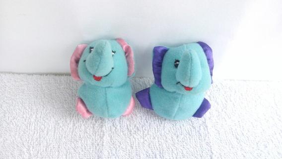 Dedoche Elefantinhos De Pelucia ( Os Dois )