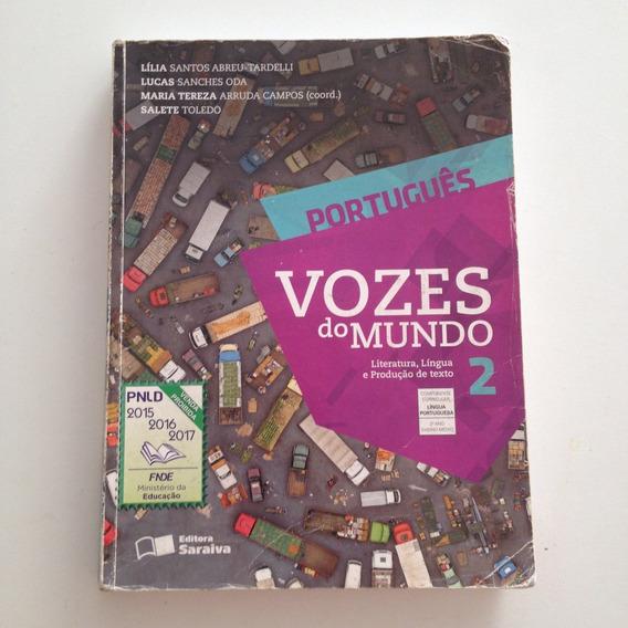Livro Vozes Do Mundo Português 2ª Ano Ensino Médio C2