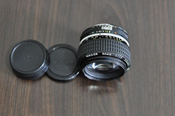 Lente Objetiva Nikon 50mm F/1.2 Ai-s