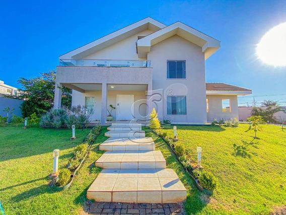 Sobrado Com 4 Dormitórios À Venda, 354 M² Por R$ 1.350.000,00 - Condomínio Sun Lake - Londrina/pr - So0157