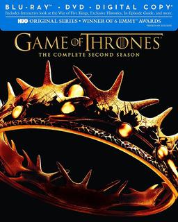 Blu-ray + Dvd Game Of Thrones Season 2 / Temporada 2