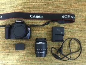 Canon T3 + Lente 18-55mm + Carregador + Bateria + Cartão Sd