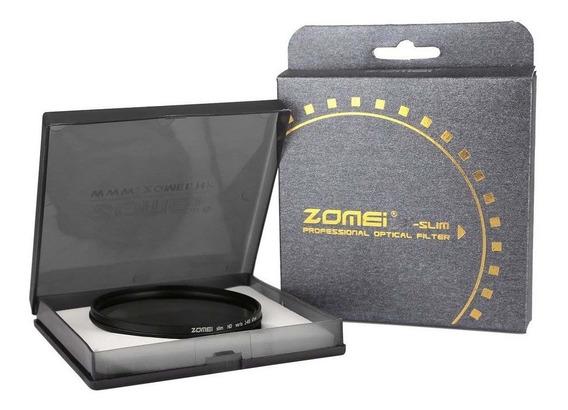 Filtro Nd Zomei 49mm Densidade Neutra Variável Nd2 - Nd400