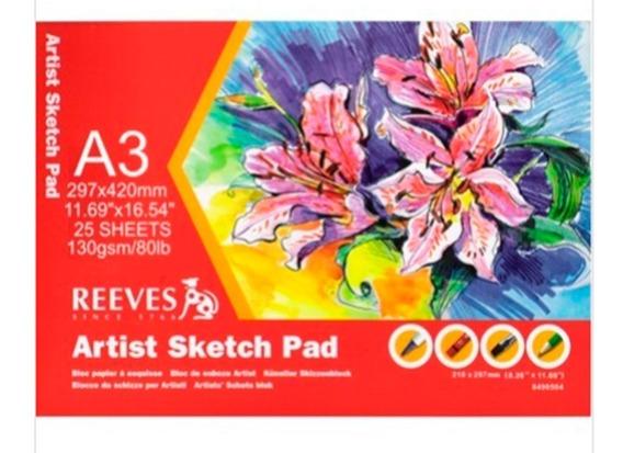 Bloco Sketch Pad - A3 -reeves