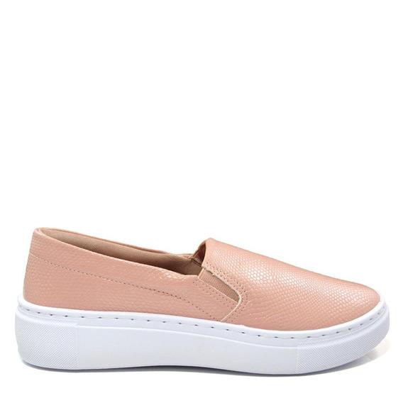 Tênis Slip On Feminino Olfer Shoes 1246-001