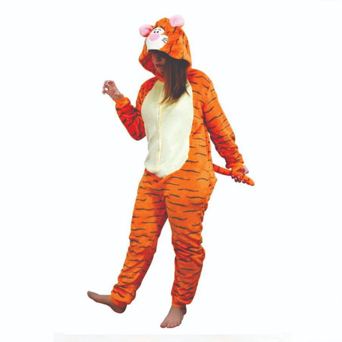 Tigrão Tigre Pijama Macacão Kigurumi - Pronta Entrega