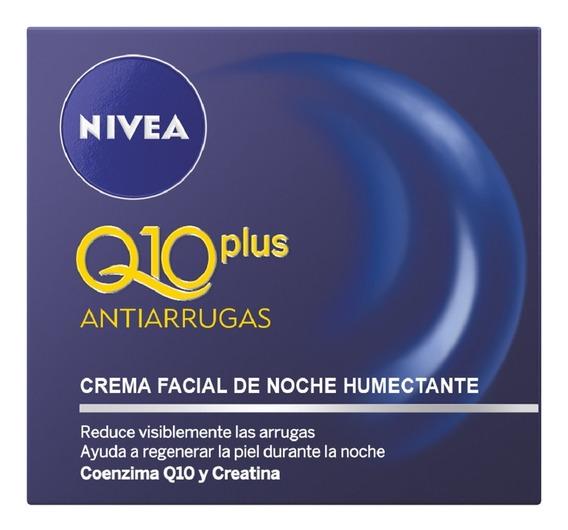 Crema Nivea Q10 Plus Anti-edad - mL a $1000