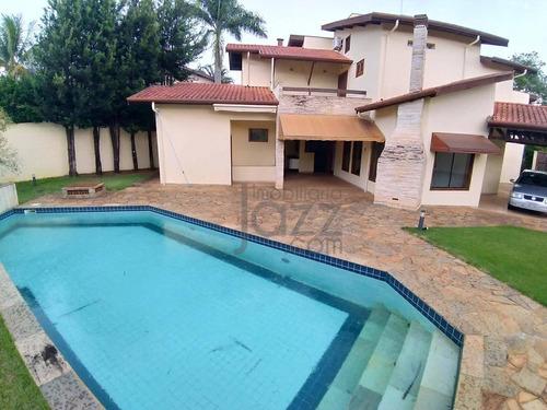 Imagem 1 de 30 de Casa Com 4 Dormitórios À Venda, 335 M² Por R$ 1.800.000,00 - Barão Geraldo - Campinas/sp - Ca2598