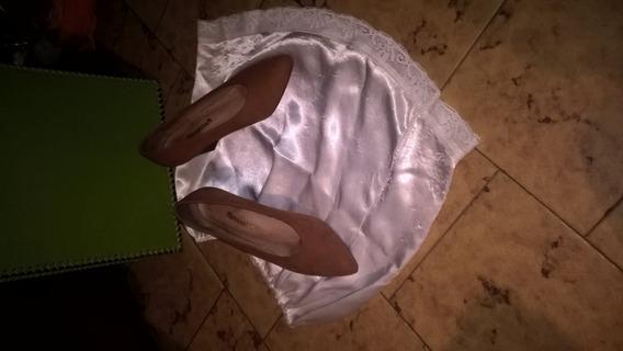 Zapatos De Gamuza Forrados N° 35 / 36