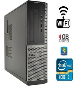 Pc Dell Optiplex 3010 Core I5 - 4 Gb Ram - Hd 500 Gb + Wi-f