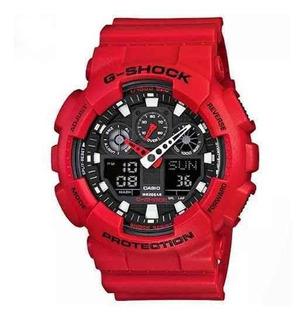 Reloj Casio G Shock Ga-100b-4a Hombre Crono Sumergible 200m