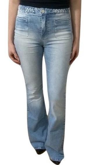 Calça Jeans Forum Flare Trançada Feminina