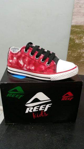 Zapatillas Reef Rojas. Talle 22 Al 35
