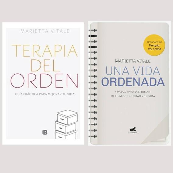 Pack Vitale Marietta - Terapia Del Orden + Una Vida Ordenada