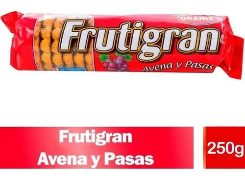 Imagen 1 de 9 de Galletitas Frutigran Avena Y Pasas Galletas Granix