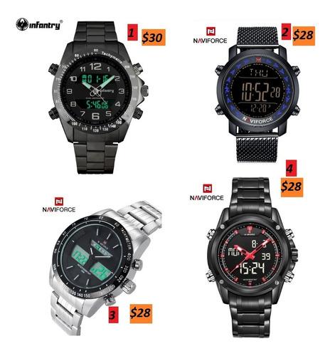 Relojes Naviforce, Shark Infantry Varios Modelos