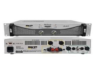 Skp Max 720 Amplificador De Potencia 350w+350w Rms 4 Ohms P