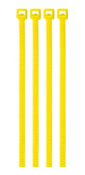 Cincho Amarillo 18 Lb 2.5 Mm X 10 Cm 100 Pz Volteck 41014